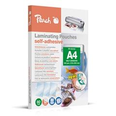Vrećice za plastificiranje (A4), samoljepljiva, 80 mic, 100 komada (S-PP080-17)