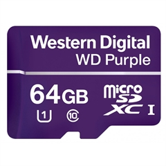 Memorijska kartica WD Purple Micro SD, 64 GB