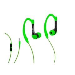 Slušalice SBS, sportske, zelene