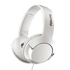 Slušalice sa mikrofonom Philips Bass+ SHL3175, žičane, bijele