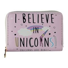 Ženski novčanik, mali, unicorn