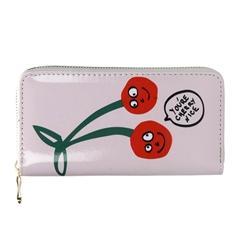 Ženski novčanik, veliki, cherry