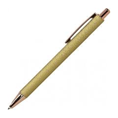 Kemijska olovka Metal, zlatna, u futroli