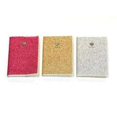 Bilježnica sa šljokicama Happy, A6, 64 listova