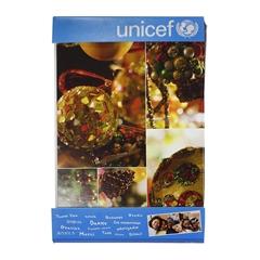 Čestitke UNICEF Okraski, 10 komada