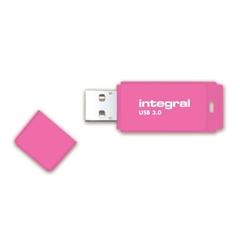 USB stick Integral Neon, 64 GB, ružičasta