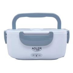 Električna kutija za ručak Adler, 1.1 L, siva