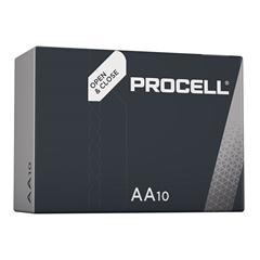 Baterija Duracell Procell AA-LR6, 10 komada