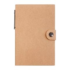 Bilježnica sa samoljepljivim listićima i kemijskom olovkom, eko