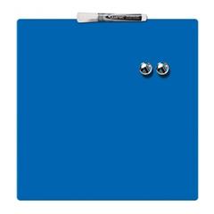Magnetna ploča Nobo Quarter 36 x 36 cm, plava