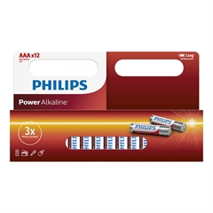 Baterija Philips Power Alkaline AAA-LR03, 12 komada
