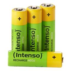 Baterija Intenso Polnilna AAA-HR03, 850 mAh, 4 komada