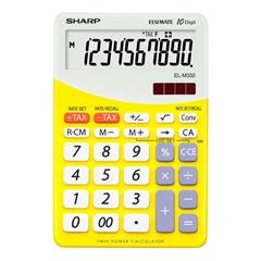 Komercijalni kalkulator Sharp ELM332BYL, žuti