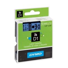 Traka Dymo D1 45016, 12 mm / 7 m (crna/plava), original