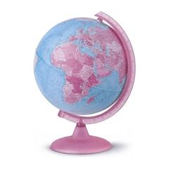 Globus Nova Rico Pink, 25 cm, sa svjetlom, engleski
