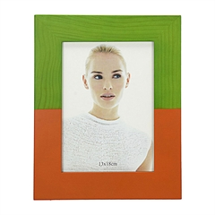 Okvir za slike, 13 x 18 cm, zeleno-crveni