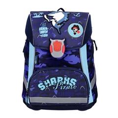 Ergonomska školska torba ABC123 Shark