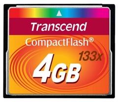 Memorijska kartica Transcend CF Ultra Speed 133x, 4 GB