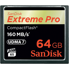 Memorijska kartica SanDisk Compact Flash Extreme PRO, 64 GB