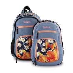 Školski ruksak 2u1 Rucksack Only Doubler, Jeans Butterfly