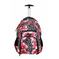 Školski ruksak na kotačima Rucksack Only Trolley, Rose