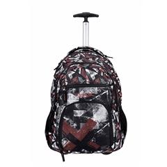 Školski ruksak na kotačima Rucksack Only Trolley, Grunge