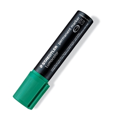 Marker Permanent Staedtler Lumocolor 2-12 mm, zelen