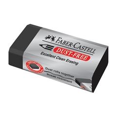 Gumica Faber-Castell Dust Free, črna, 1 kos