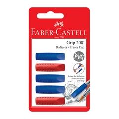 Gumica Faber-Castell Grip poklapac, 5 kosov