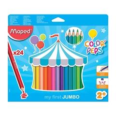 Bojice Maped Color'peps Maxi, 24 komada