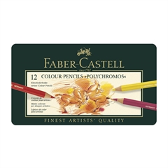 Bojice Faber-Castell Polychromos, 12 komada