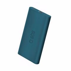 Prijenosna baterija (powerbank) SBS, 4.000 mAh, plava