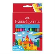 Flomasteri Faber-Castell Felt Tip Pens, 24 komada